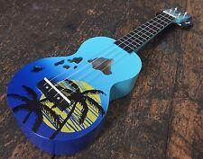 Mahalo Blue MD1HA/BUB Soprano Ukulele Hawaii Limited Edition