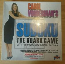 Sealed Vintage Carol Vorderman's 'Sudoku' - The Board Game