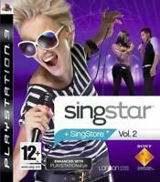 Singstar Vol. 2 (Volume 2) PS3 Playstation 3 **FREE UK POSTAGE!!**