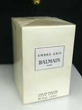 AMBRE GRIS BALMAIN EDP 75ML NEW FOR WOMEN SEALED RARE