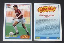 373 MARCO VAN BASTEN MILAN AC ROSSONERI FOOTBALL CARD 92 1991-1992 CALCIO ITALIA
