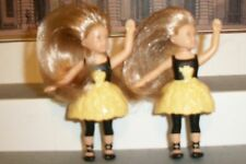 2014 Isabelle Mcdonalds American Girl BALLERINA LOT OF 2  AG 3 INCH DOLLS +BRUSH