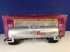 MTH Premier O Scale COORS LIGHT TANK CAR #20-96177 New!