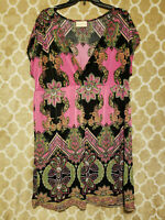 Bobbie Brooks Plus Size 1X Multi Color Top