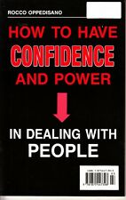 Confidence And Power-By Using Your 6th Sense-Rocco Oppedisano-Book