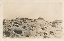 Nd * Badlands Petrified Forest Rppc ca. 1920s North Dakota