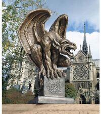 Fierce Gargoyle Garden Statue Sculpture Tall Foot Fearful Design Display Decor