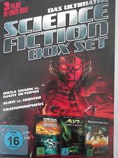 3x Science Fiction - Mega Shark vs. Giant Octopus, Alien Hunter, Transmorphers