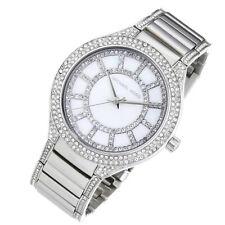 100% New Michael Kors Quartz of Pearl Dial Stainless Steel Women Watch MK3311