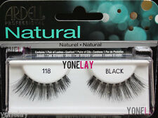 4 Pairs Ardell 118 False Eyelashes Fake Eye Lashes Black