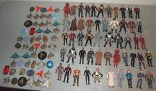 Used 52 Loose STAR TREK NEXT GENERATION Playmates FIGURES Lot (w/ Bases)