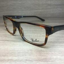 Ray Ban RB 5169 RB5169 Eyeglasses Brown Red Horn 5541 Authentic 54mm