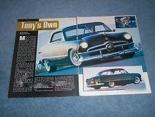 1950 1951 1952 1953 Ford Lincoln Mercury Door Lock Striker Screws TWO