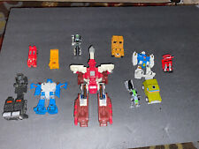 Vtg Transformers Lot of 11 Figures Hasbro Takara 1980s