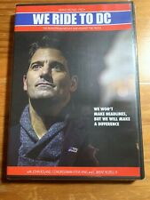 WE RIDE TO DC DENNIS MICHAEL LYNCH NEW SEALED DVD FREE MEDIA SHIPPING