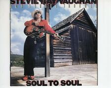 CD STEVIE RAY VAUGHAN	soul to soul	EX- (A4233)