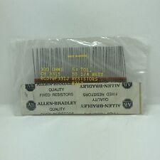 New Listingvtg Allen Bradley 330 Ohm 5 14w Fixed Resistors Cb 3315 Rc07gf331j 50 Count