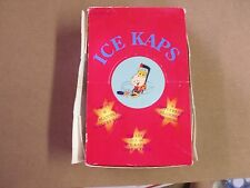 POGS/MILKCAPS ICE KAPS HOCKEY 36 Ct. BOX UNOPENED PACKS BOX SHOWS WEAR
