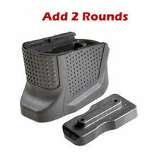 Hunting Scopes Magazine Extension Base Plate Add 2 Rd for Glock 43 Model