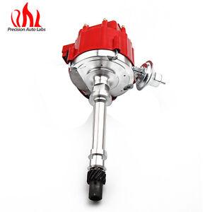 HEI Distributor for Small Block/Big Block Chevrolet K10 Pickup Suburban Red Cap