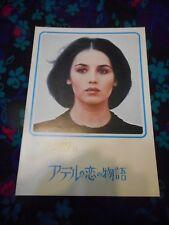 THE STORY OF ADELE H. - ORIGINAL JAPANESE PROGRAM - ISABELLE ADJANI/TRUFFAUT