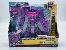Transformers Cyberverse Decepticon Shockwave Transforming  Action Figure - NEW!