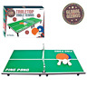 Tabletop Table Tennis Desktop Table Top Ping Pong Game - Table Bats & Balls