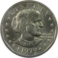 1979 P Narrow Rim Far Date Susan B Anthony Dollar BU Uncirculated SBA $1 US Coin