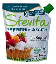 Stevita Premium Pure Organic Stevia Powder 8oz 227 Serving Zero Calorie Natural