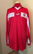 Switzerland Home Football Shirt L/s Large