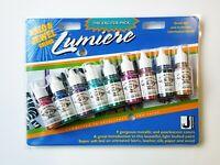 Jacquard Lumiere Halo & Jewel Exciter Pack (9 x 14 ml bottle set) Fabric Paint