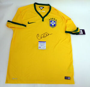 Willian Brazil Brasil Chelsea Signed Autograph Official Jersey PSA/DNA COA