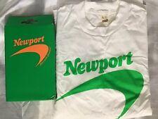 USA vtg 90s Screen Stars sz L Newport Cigarettes T Shirt Deadstock Single Stitch