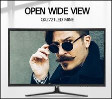 "QNIX - New QX2721 LED MINE  27"" Monitor 1920x1080  @60Hz FHD / PLS / HDMI, VGA"