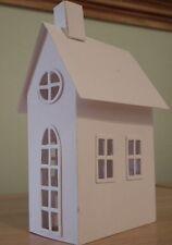 Tim Holtz Sizzix village logement Brownstone Die Cut Kit HOUSE BUILDING 661205