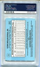 1986 DONRUSS NOLAN RYAN #258 PSA 8 NM-MT B26290526