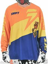 $49 Shift Racing Men's Faction Slate Jersey – Orange/Blue sz XXL