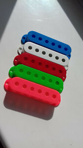 DIMARZIO Pickup covers- WHITE BLUE RED  GREEN PINK SET OF 5 NEW