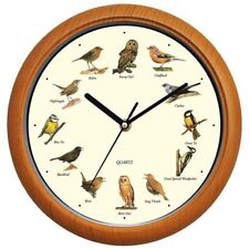 Benail Singing Bird Wall Clock 12 Inch with Design of the Names and