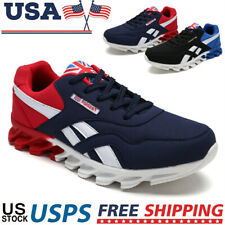 Men's Fashion Running Sneakers Sports Breathable Walking Shoes Casual Gym Tennis