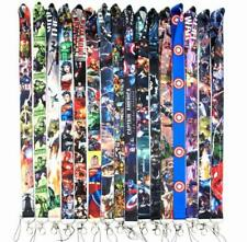 Mixed 2500pcs superheros Lanyard ID Badge Mobile Phone Charms Key Chain