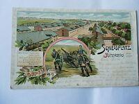 Ansichtskarte Schiessplatz Jüterbog Altes Lager 1917 Feldpost
