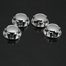 Aluminum Dust Proof Hex Wheel nuts for 1/5th HPI Rovan Baja King Motor Silver