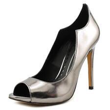 Zapatos de tacón de mujer de tacón alto (más que 7,5 cm) Color principal Gris Talla 38.5