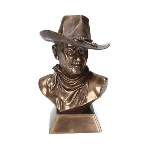 John Wayne Bronze Bust (Large) B2269F6 Nemesis Now 40cm