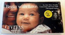 Begin with Love CIVITAS  Shaping Children's Lives  Oprah Winfrey  VHS Rare Movie