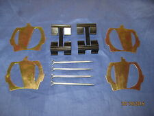 MG MIDGET/SPRITE FRONT BRAKE PAD  FITTING KIT 4 PINS 2 SPRINGS AND  4 SHIMS KLC2