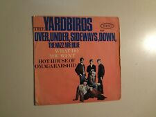"YARDBIRDS:  Over,Under,Sideways,Down +3-Germany 7"" 1966 Epic Records EP 9049 PCV"