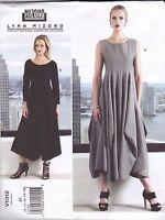 Vogue Sewing Pattern Misses' Lynn Mizono Pullover Dress8 - 24 V1312