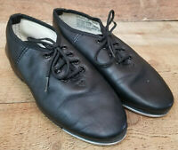 Revolution Tap Shoes Boys Intro Jazz Laced Black Dance Shoe 501R Size 2.5M